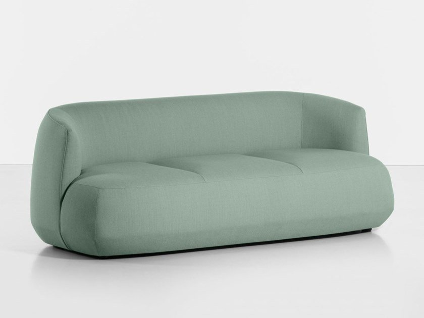 3 seater fabric sofa BRIONI UP | 3 seater sofa by Kristalia