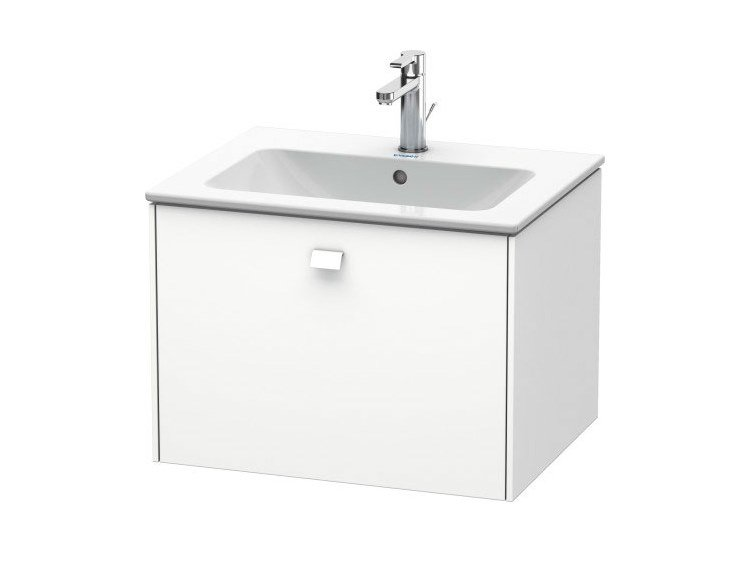 Single wall-mounted vanity unit with drawers BRIOSO | Wall-mounted vanity unit by Duravit