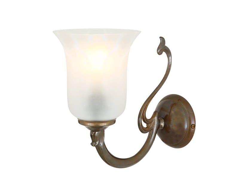 Indirect light handmade wall lamp BRISBANE by Mullan Lighting