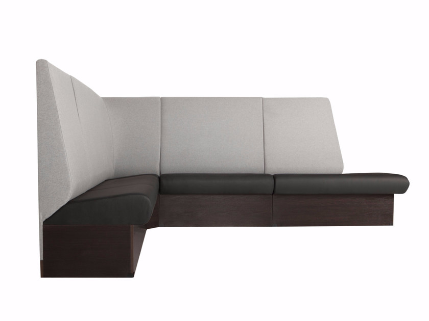 Corner sectional fabric leisure sofa BRITTA by SITS
