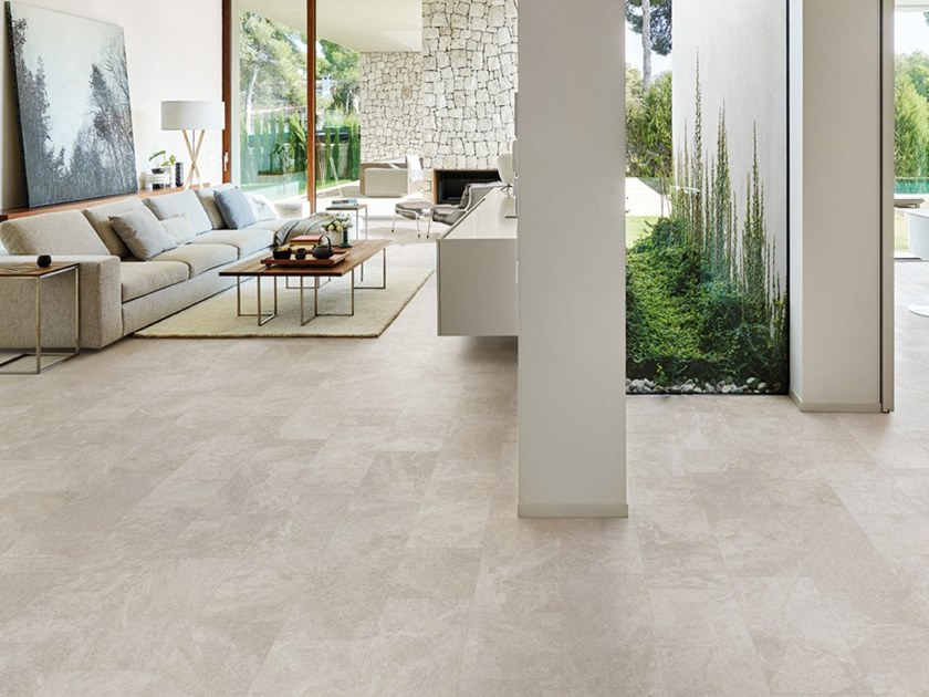 Porcelain stoneware wall/floor tiles with stone effect BRIXEN STONE IVORY by EmilCeramica by Emilgroup