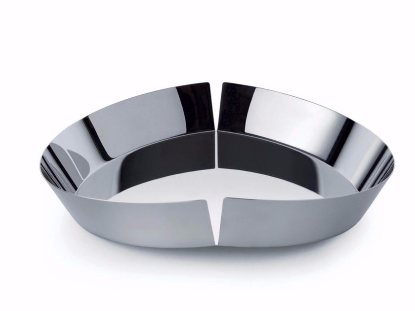 Stainless steel fruit bowl BROKEN BOWL | Stainless steel fruit bowl by Alessi
