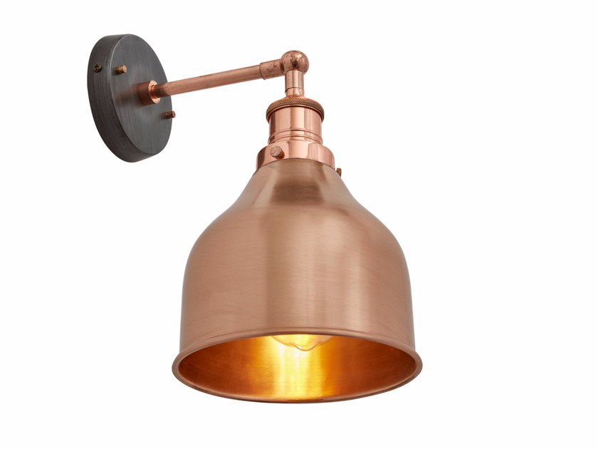 Copper wall lamp BROOKLYN CONE | Copper wall lamp by Industville