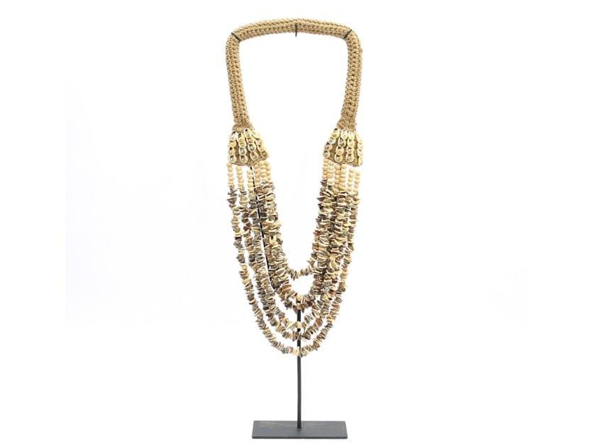 Metal decorative object BROWN BUTTON NECKLACE by Bazar Bizar