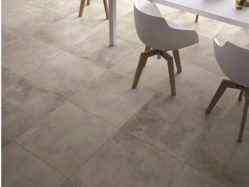Porcelain stoneware flooring BROWN by GranitiFiandre