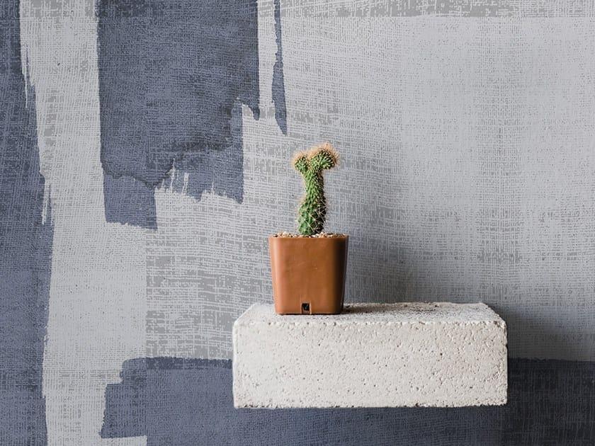 Washable panoramic glass-fibre wallpaper CANVAS BRUSH by N.O.W. Edizioni