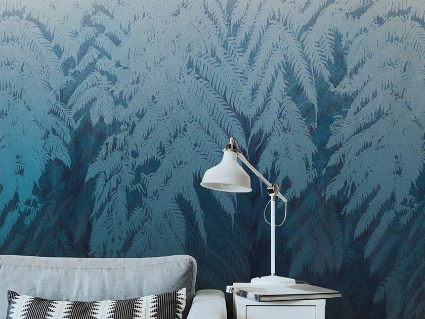 Fire retardant Digital printing wallpaper BRUSHWOOK by NANNI GIANCARLO & C.