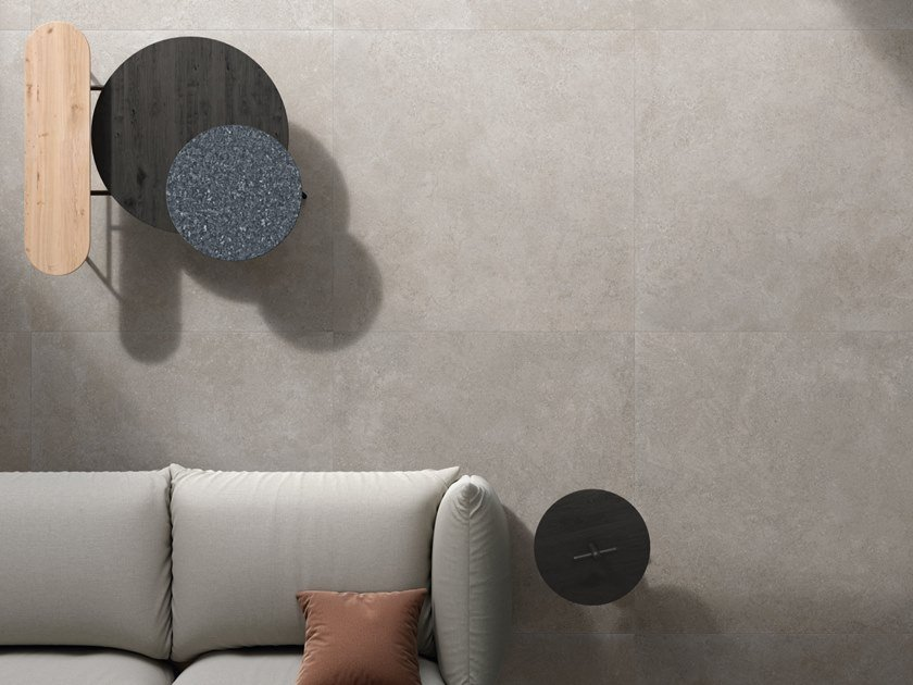 Porcelain stoneware wall/floor tiles BRYSTONE GREY by CERAMICHE KEOPE