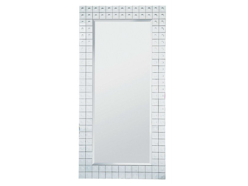 Rectangular wall-mounted framed mirror BUBBLE 156X78 by KARE-DESIGN