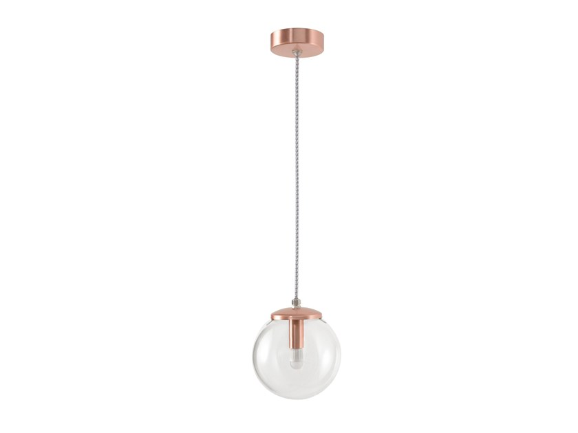 LED glass pendant lamp BUBBLE by SANIJURA