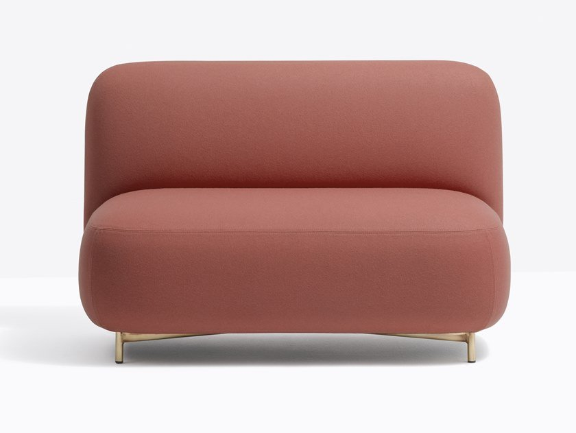 Fabric small sofa BUDDY 214S by PEDRALI