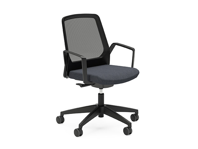 Ergonomic swivel mesh task chair BUDDY IS3 270B by Interstuhl