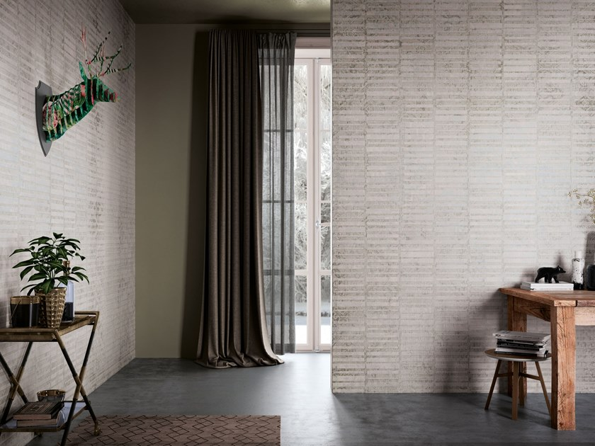 Nonwoven wallpaper BUDÙR by Tecnografica Italian Wallcoverings