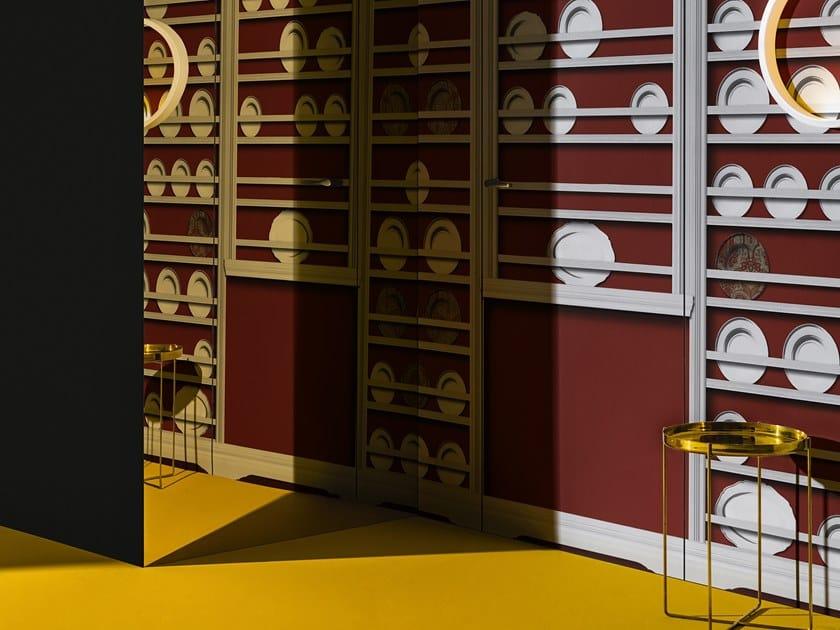 Trompe l'oeil wallpaper BUFFET CHINOIS by Wall&decò