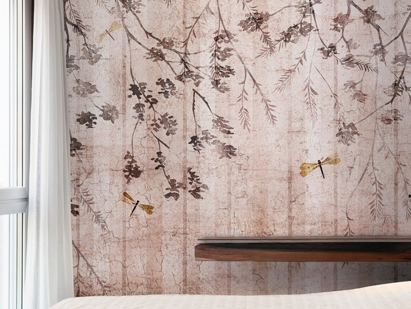Ecological washable PVC free wallpaper BUG by Wallpepper