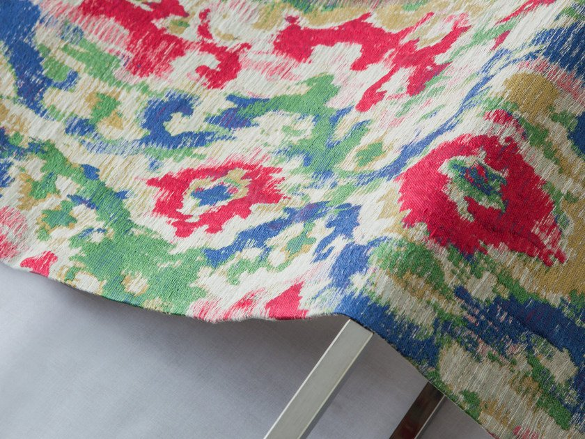Multi-colored upholstery fabric BUKHARA by Equipo DRT