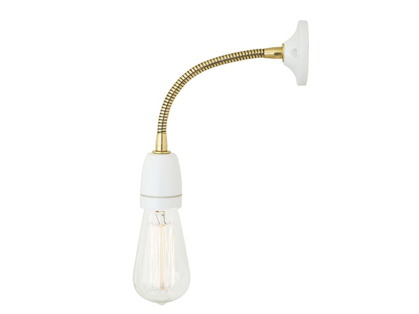 Adjustable brass wall lamp BUNDORAN by Mullan Lighting