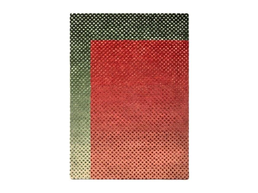 Handmade wool rug BURBUJA by Tacto