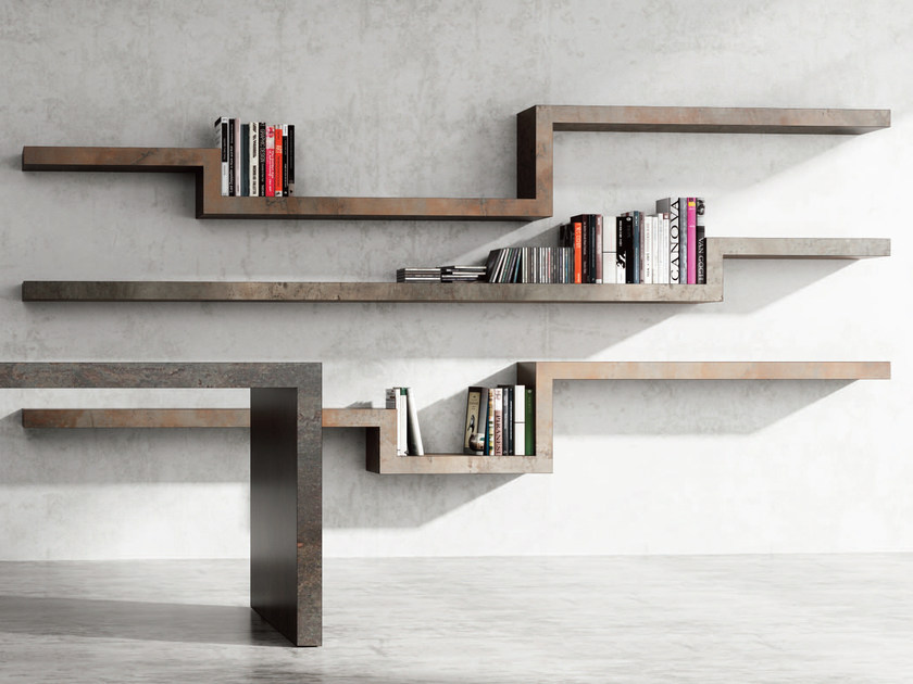 HPL wall shelf BUSINESS | Wall shelf by De Rosso