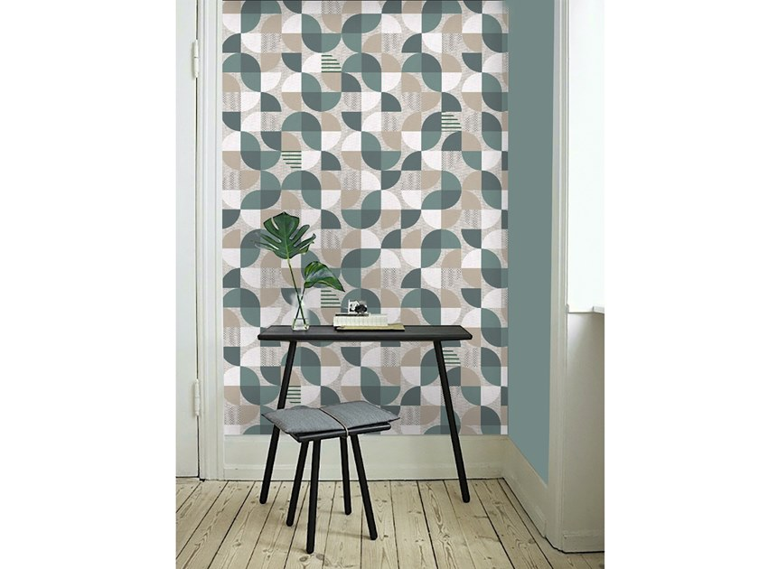 Wall tiles / wallpaper BUTTERFLIES GREEN by Officinarkitettura®