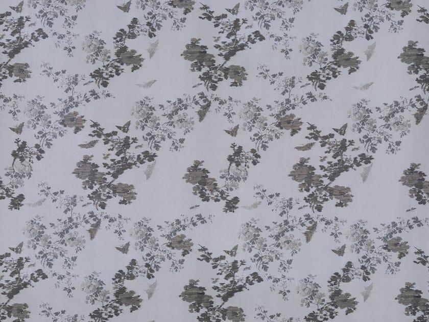 Embossed fire retardant upholstery fabric BUTTERFLY REVIVAL SN by Dedar