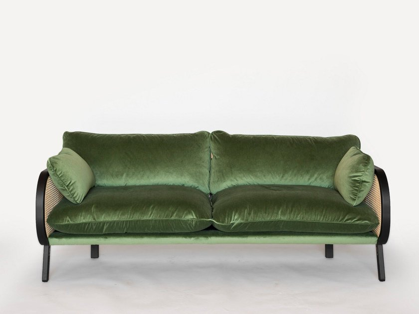 2 seater velvet sofa BUZZICANE | 2 seater sofa by BuzziSpace