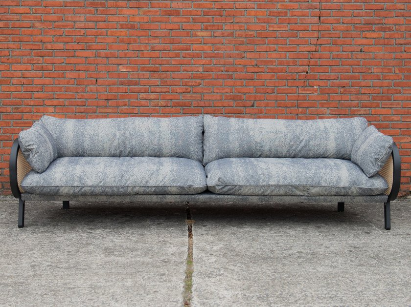 3 seater fabric sofa BUZZICANE | 3 seater sofa by BuzziSpace