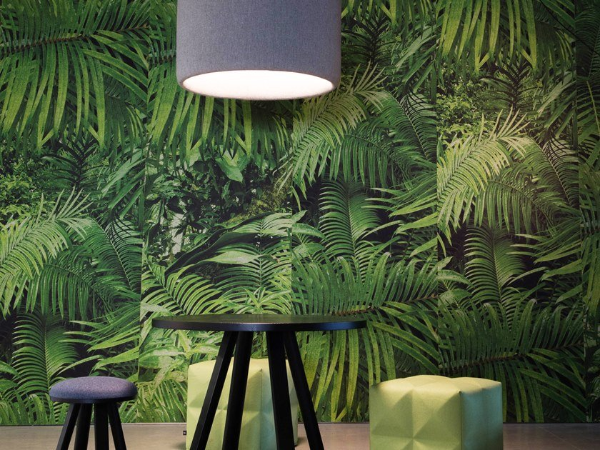 Sound absorbing wall tiles BuzziSkin Printed by BuzziSpace