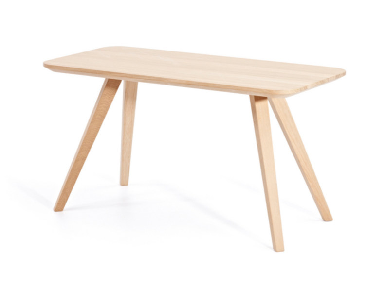 Rectangular wooden coffee table BUZZY T H47 | Rectangular coffee table by Z-Editions