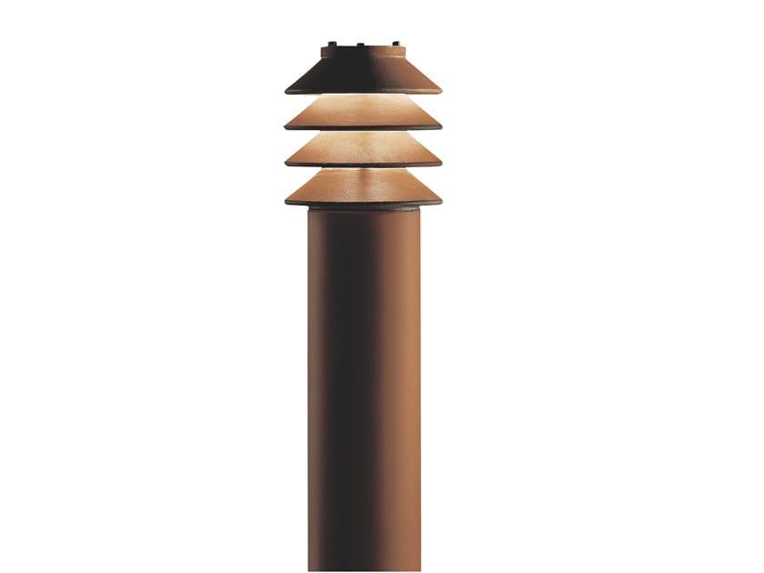 LED Corten™ bollard light BYSTED by Louis Poulsen