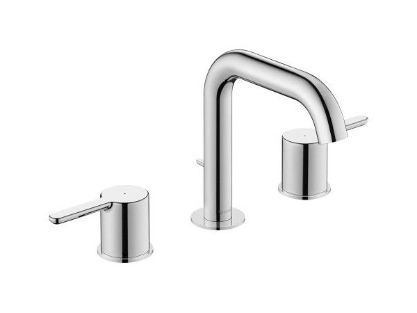 Washbasin mixer with pop up waste with individual rosettes C.1 | Countertop washbasin mixer by Duravit