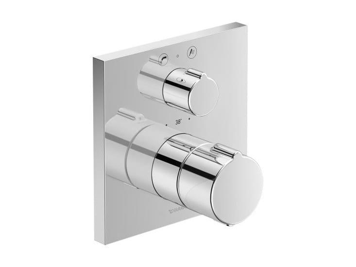 Recessed thermostatic bathtub mixer C.1 | Thermostatic bathtub mixer by Duravit