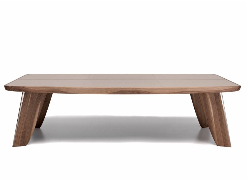 Rectangular walnut table C 1627   Table by Annibale Colombo