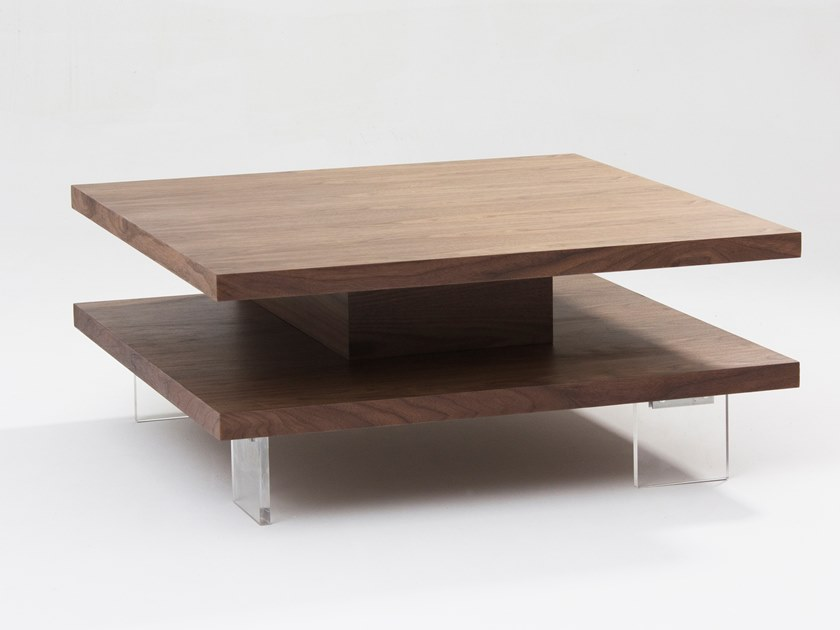 Square wooden coffee table CT-310 | Coffee table by Adwin