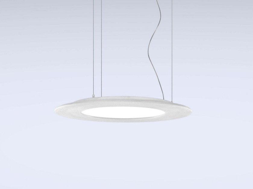 LED cement pendant lamp MATERICA | Cement pendant lamp by Marchetti
