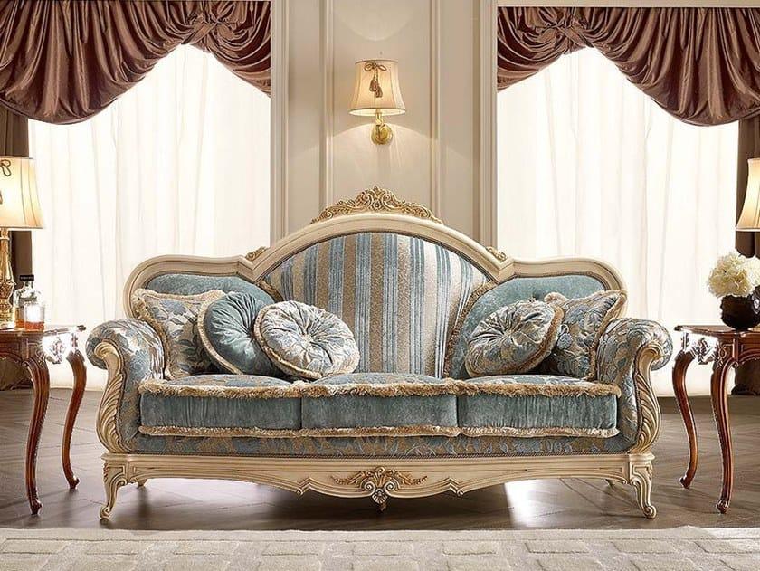 3 seater fabric sofa CASA PRINCIPE | Sofa by Valderamobili