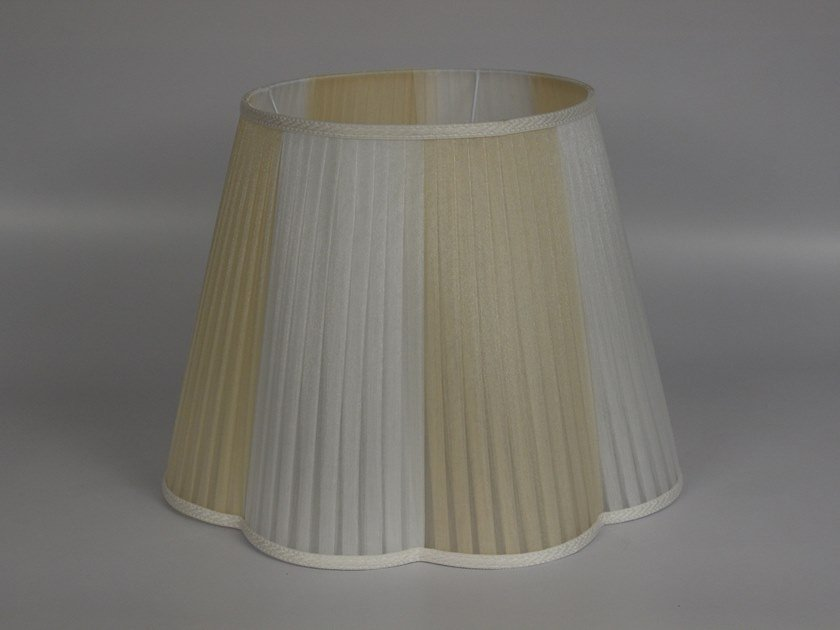 Pleated organza lampshade C021   Lampshade by Ipsilon PARALUMI