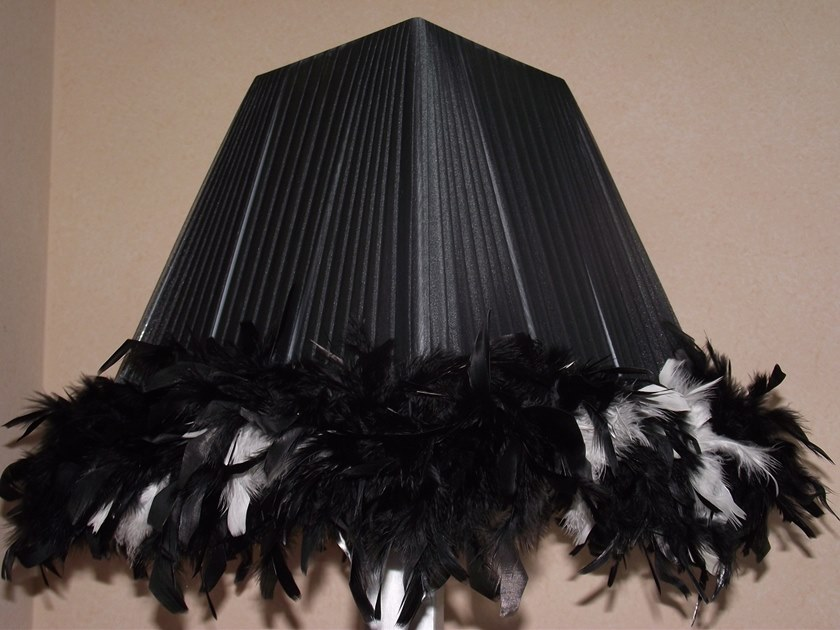 Pleated organza lampshade C030 | Lampshade by Ipsilon PARALUMI