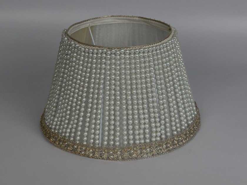 Pleated organza lampshade C032 | Lampshade by Ipsilon PARALUMI