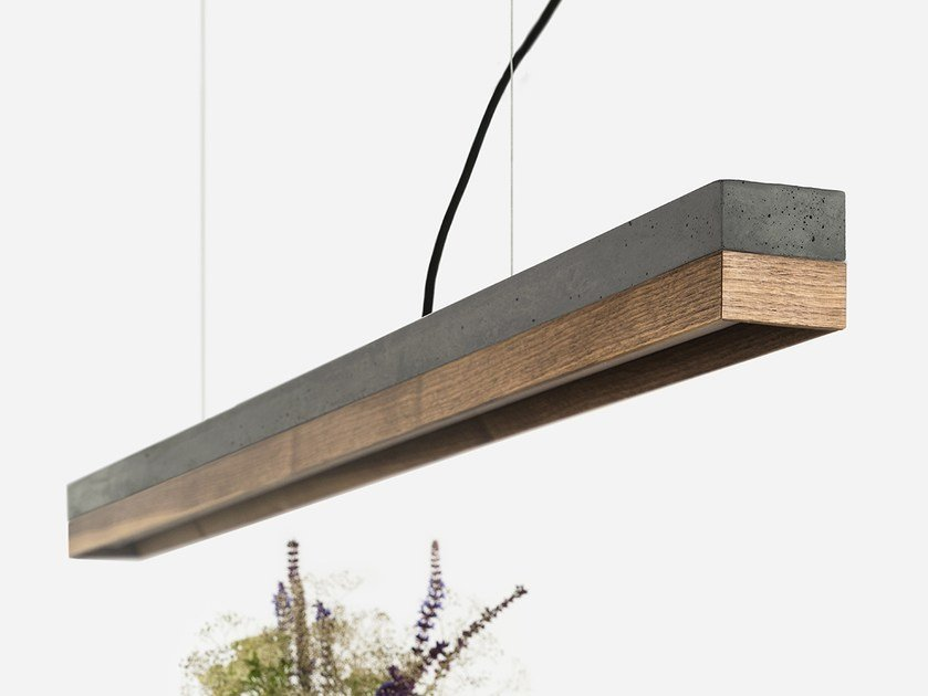 Dimmable LED pendant light ​​[C1] ​DARK ​WALNUT by GANTlights