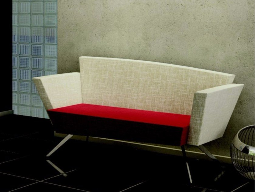 Fabric small sofa C2 BD | Small sofa by TALIN