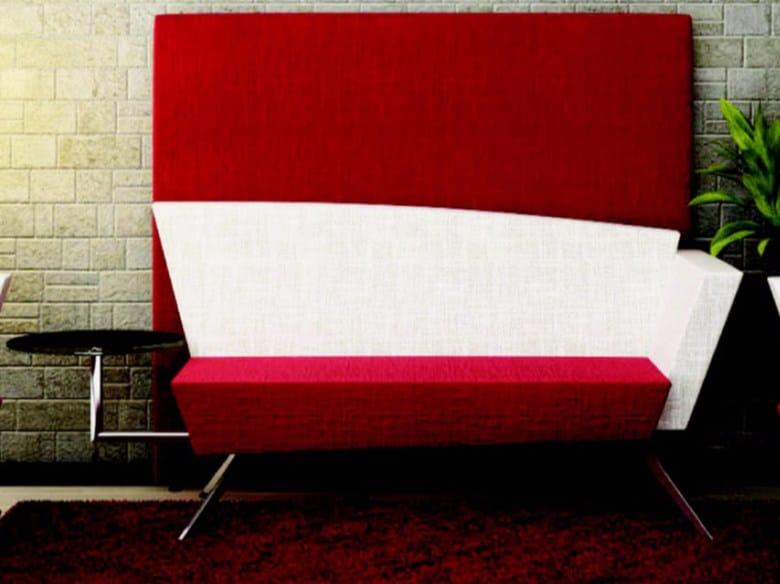 Fabric small sofa C2BST | Small sofa by TALIN