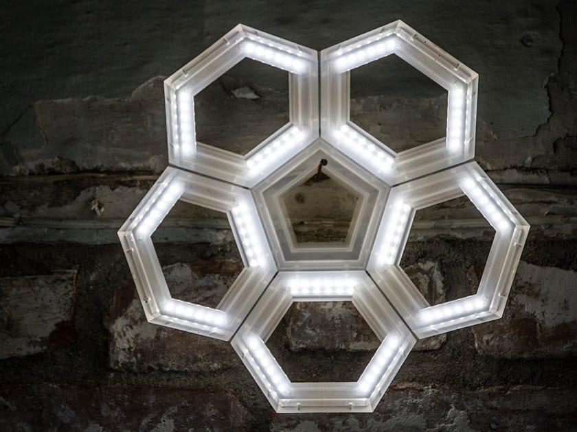 LED direct light PMMA wall light C5   Direct light wall light by Kriladesign