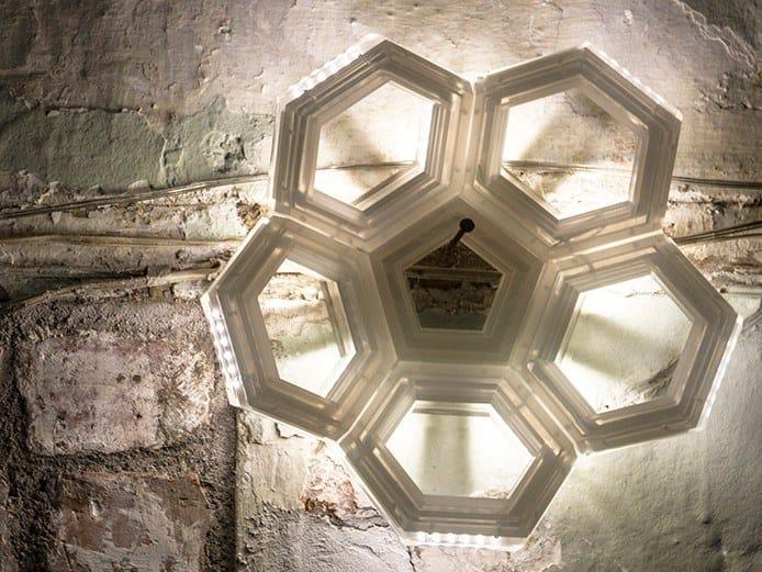 LED indirect light PMMA wall light C5 | Indirect light wall light by Kriladesign