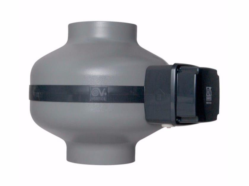 Aspiratore centrifugo assiale a risparmio energetico CA 150 Q ES by Vortice