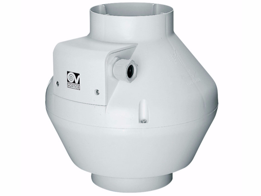Centifugal plastic in-line fan CA 250 V0 E by Vortice