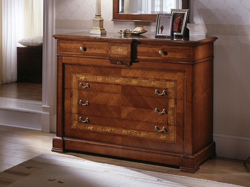 Cherry wood chest of drawers CA' DOLFIN | Chest of drawers by MOLETTA
