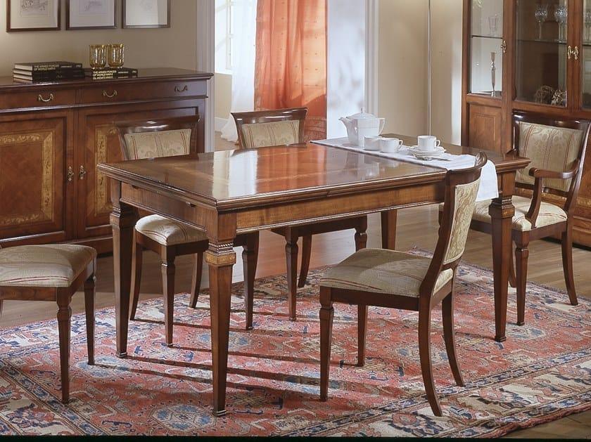 Extending rectangular dining table CA' DOLFIN | Rectangular table by MOLETTA