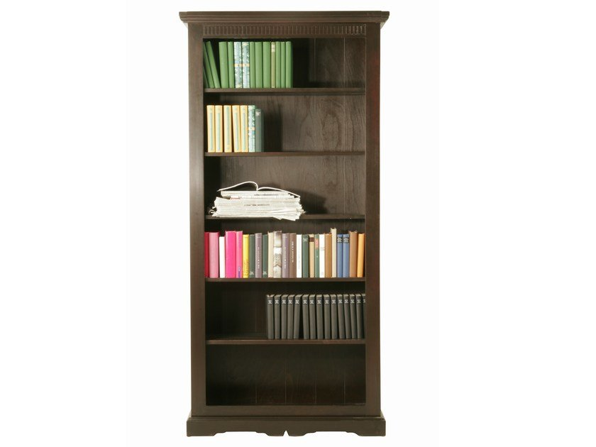 Open wooden bookcase CABANA | Bookcase by KARE-DESIGN