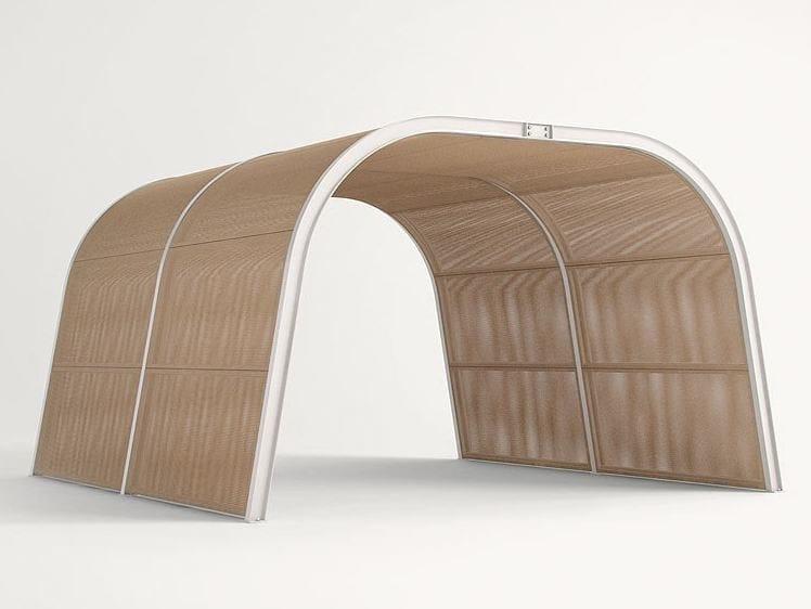 Wooden gazebo CABANNE MODULO  TUNNEL by paola lenti